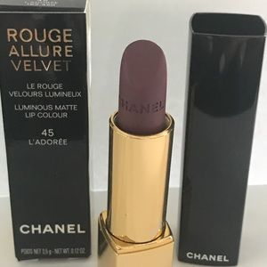 Chanel Rouge Allure Velvet Matte Lip #45 L'Adoree